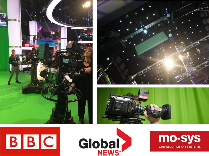 UK's BBC and Canada's Global News Select StarTracker from Mo-Sys for In-Studio Camera Tracking for Election Graphics