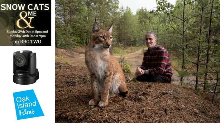 Snow Cats and Me: high-end TV wildlife series innovates with Sony BRC remote cameras