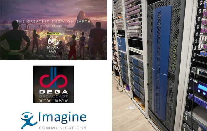 Imagine Communications' Platinum IP3 Router Provides Production Hub for Dega in Rio