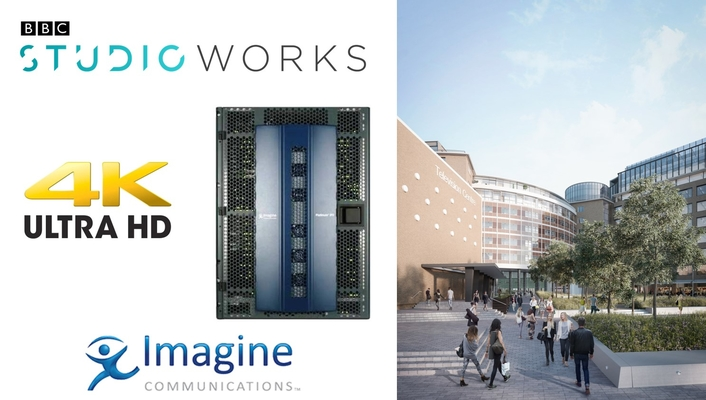 Imagine Communications' IP3 Router Selected by BBC Studioworks for New Facility
