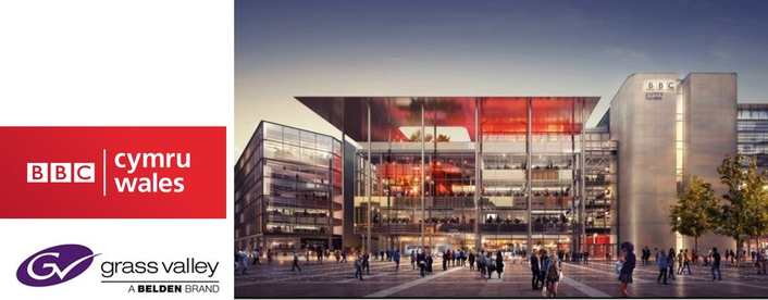 BBC Turns to Grass Valley for Integrated IP Solutions in its New Welsh Headquarters