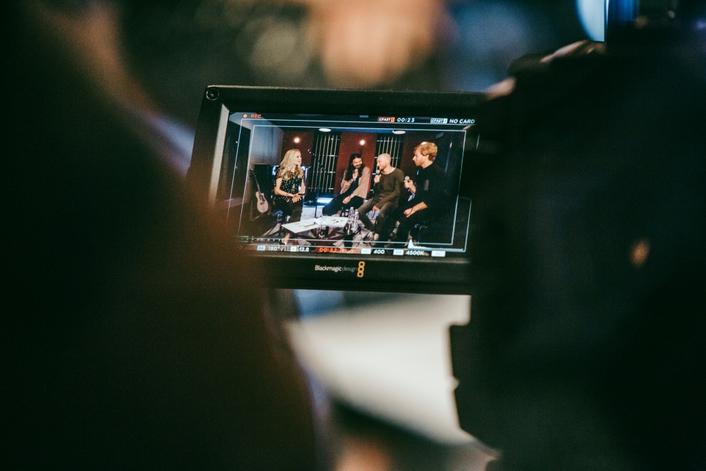 Biffy Clyro Facebook Live Stream Shot with Blackmagic URSA Mini 4.6K