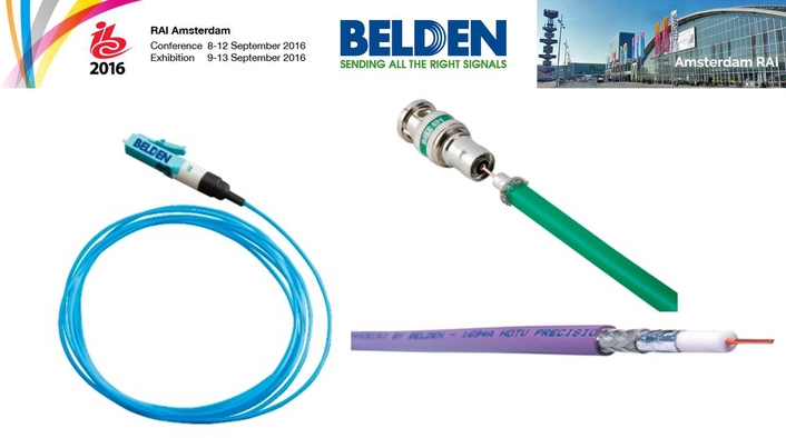 Belden introduces new products  and demonstrates easy installation at IBC 2016