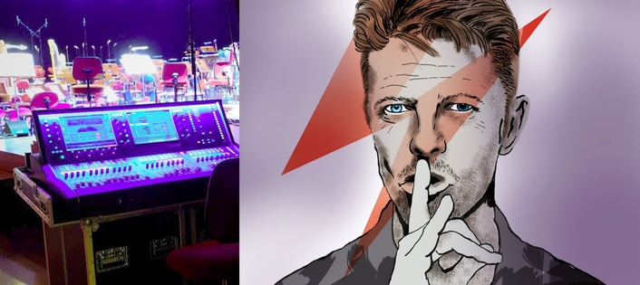 dLive and ME Transforms Bowie from Synth to Symphony