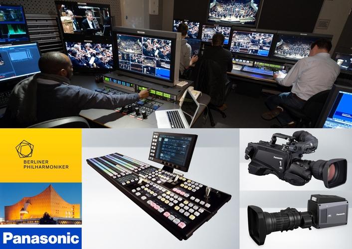 Panasonic enables 4K HDR workflow at Berlin Philharmoniker