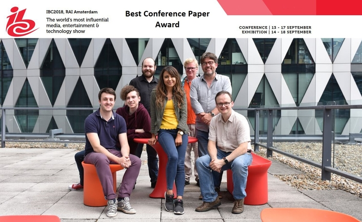 IBC Best Conference Paper Award recognises advances in artificial intelligence