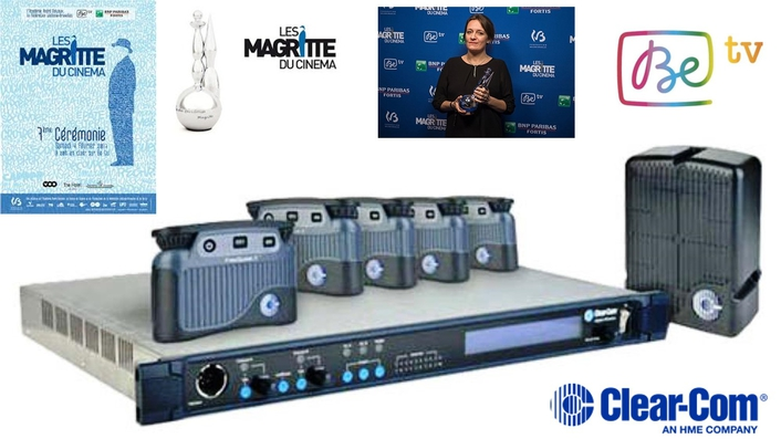 FREESPEAK II FACILITATES CLEAR COMMUNICATIONS FOR LIVE TV COVERAGE OF 7TH MAGRITTE AWARD CEREMONY