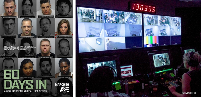 Bexel Providing All Robotic Camera Systems and Associated Equipment for Hit A&E Docuseries '60 Days In'