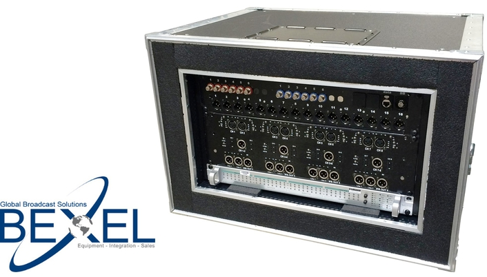 Bexel Introduces New Fiber Mini Booth Kits