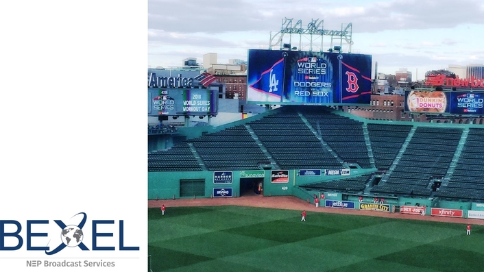 BEXEL GOES TO BAT FOR MLB NETWORK FOR POST SEASON AND DODGERS-RED SOX WORLD SERIES