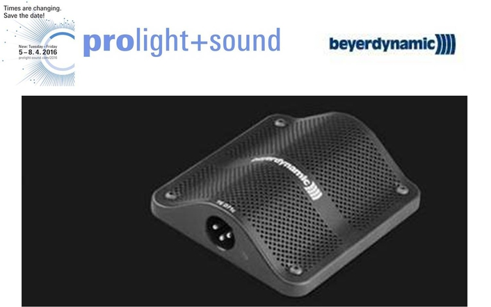 Beyerdynamic at Prolight + Sound