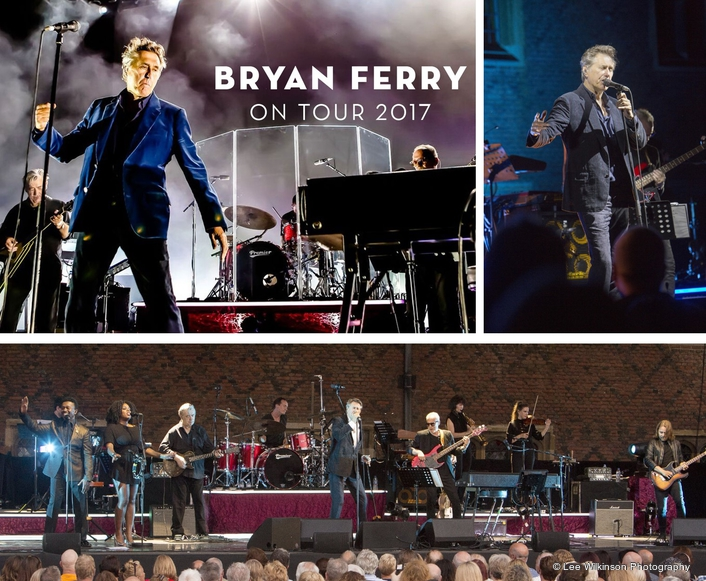 ALLEN & HEATH'S DLIVE ON MONITORS FOR BRYAN FERRY TOUR