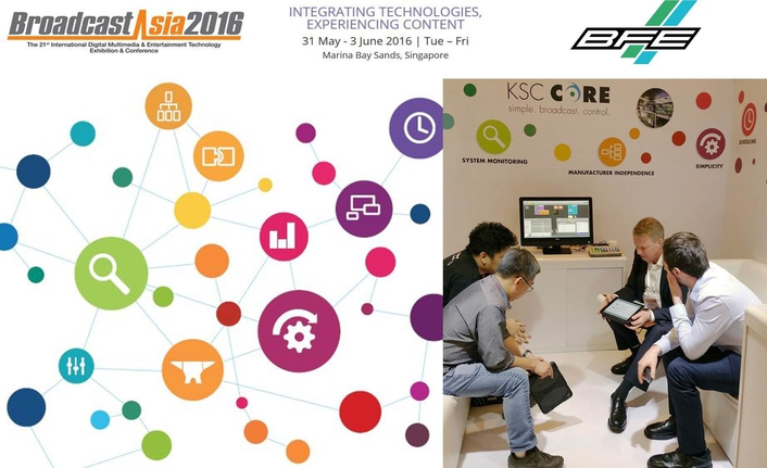 BFE KSC CORE – Successful appearance at BroadcastAsia2016