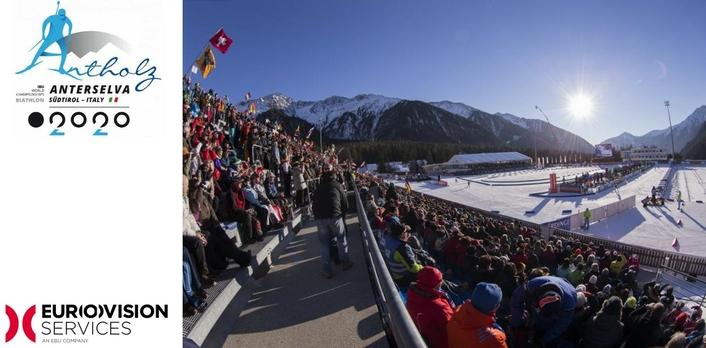 IBU Biathlon World Championships goes live with Eurovision Services