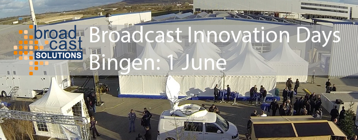 Broadcast Solutions is also hosting their own full day event, Innovation Days 2017, on June 1st