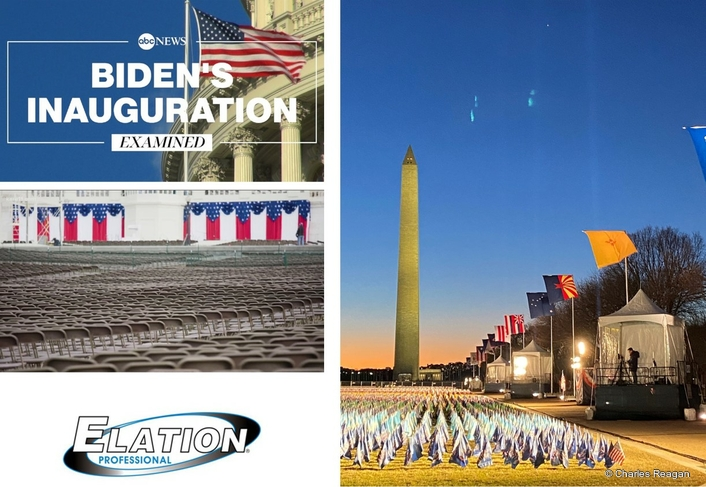 Chris Lisle lights Inauguration 'Field of Flags' on National Mall with Elation