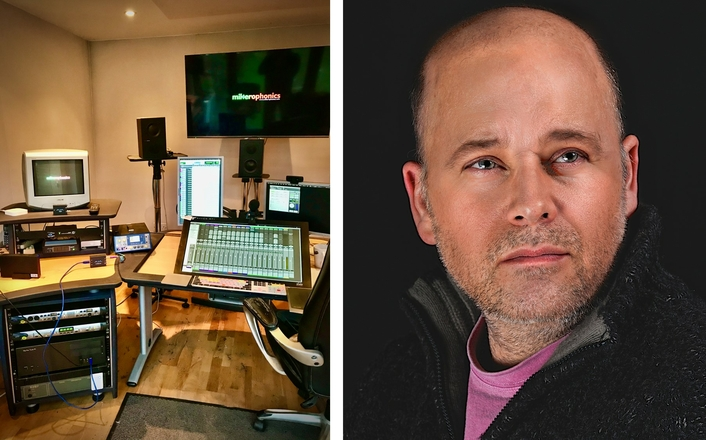 Freelance Sound Re-Recording Mixer Mike Aiton Relies on AJA Gear for Video and Remote Workflows