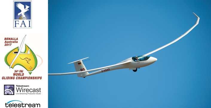 Telestream Live Streaming Revolutionizes Audience Engagement at  FAI World Gliding Championships