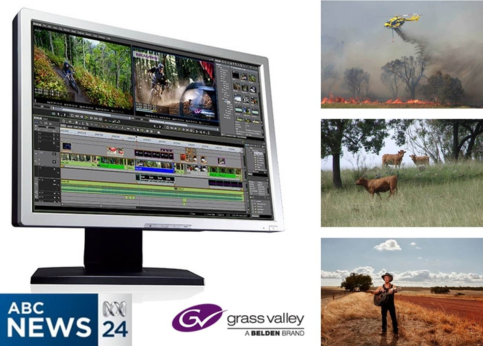 Australian Broadcasting Corporation Selects Grass Valley for Nationwide Multi-Year News Equipment Upgrade