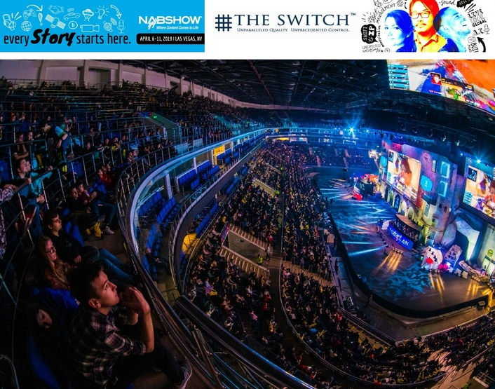 """The Switch to Launch eSports Offering and Sponsor NAB's  """"Esports Experience"""" at 2019 NAB Show"""