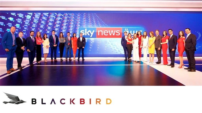Sky News Arabia chooses Blackbird for remote and collaborative cloud video editing and publishing