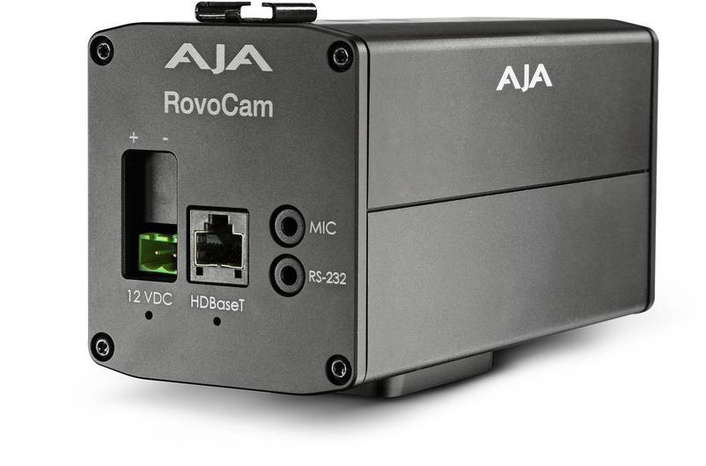 AJA Enhances RovoCam HDBaseT Compact Block Camera Workflows