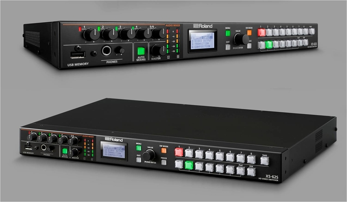 Roland Professional A/V Now Shipping the XS-62S Six-Channel Video Switcher and Audio Mixer