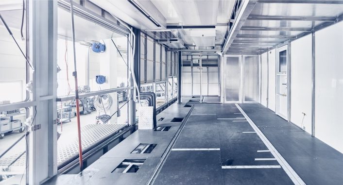 sonoVTS GmbH Headquarters Production Floor