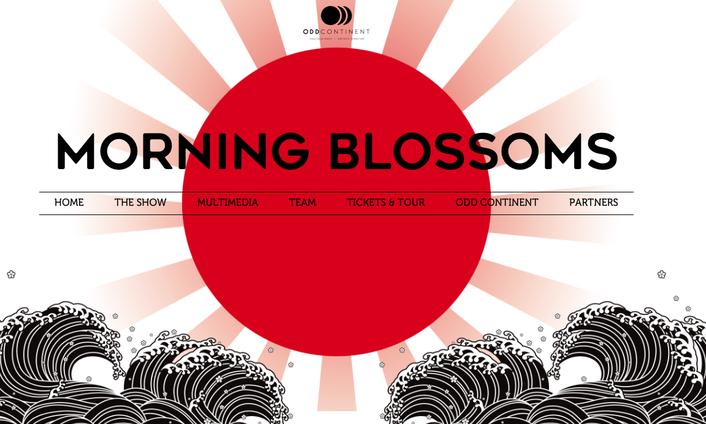 Robe Morning Blossoms