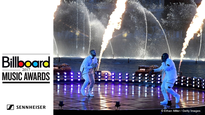 2017 BILLBOARD MUSIC AWARDS WITH COMMAND PERFORMANCE BY DRAKE ON NEW DIGITAL 6000 WIRELESS SYSTEM