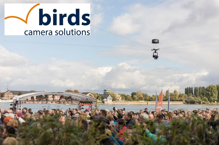 Robycam Germany becomes Birds Camera Solutions, expands system range and exhibits at Sportsinnovation 2020