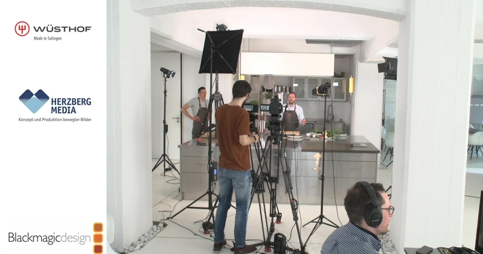 Wüsthof Broadcasts Cutting Academy Livestream Series with Blackmagic Design