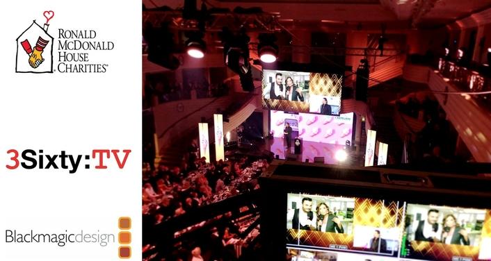 Livestreaming at Ronald McDonald Houses' Charity Gala