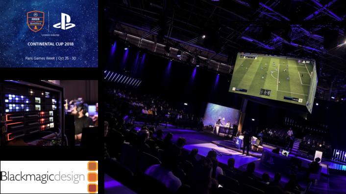 ESL UK LIVESTREAMS FIFA 19 CONTINENTAL CUP WITH BLACKMAGIC DESIGN