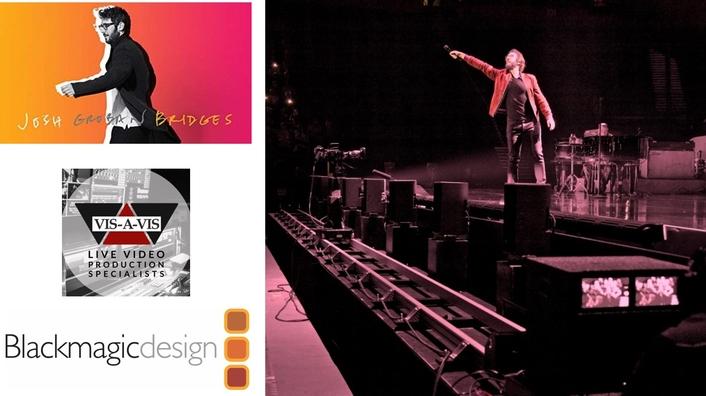 JOSH GROBAN'S 'BRIDGES' TOUR DELIVERED BY BLACKMAGIC DESIGN LIVE WORKFLOW
