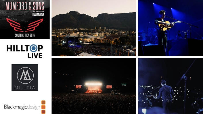 Mumford And Sons Tours South Africa With ATEM Multicam Workflow