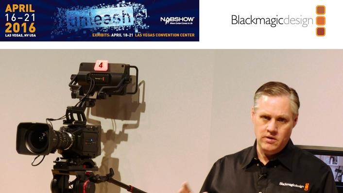 Blackmagic Design Announces New Blackmagic Ursa Studio