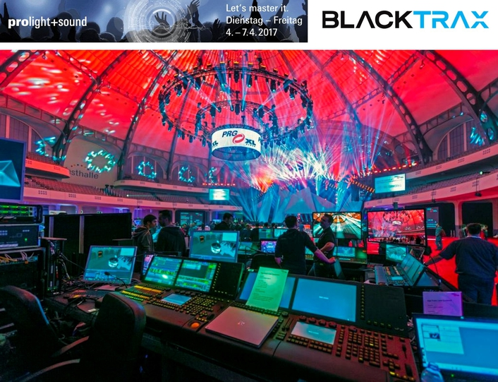 The secret alchemy of an arena show: PRG uses BlackTrax to track performers, 200 LED balls and lighting