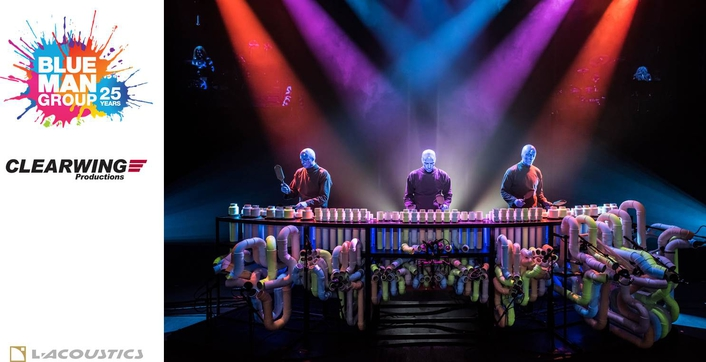L-Acoustics' Kara Lets Blue Man Group's Colors Shine Through In Sunny Florida
