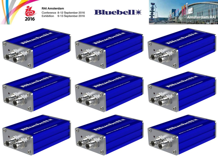 Bluebell Announces Single-Cable 12G-SDI Connectivity for 4K Broadcast Applications