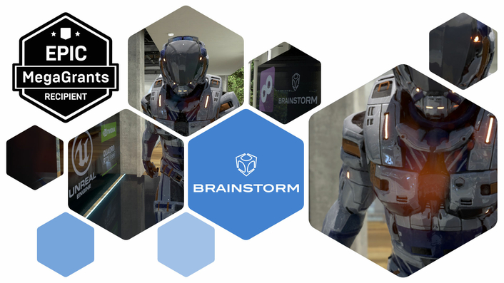 Brainstorm receives MegaGrant from Epic Games