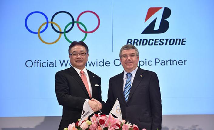 Bridgestone Named First Founding Partner of Olympic Channel