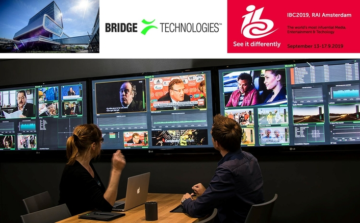 Bridge Technologies' Presence at IBC to be Bigger, Better Than Ever Before