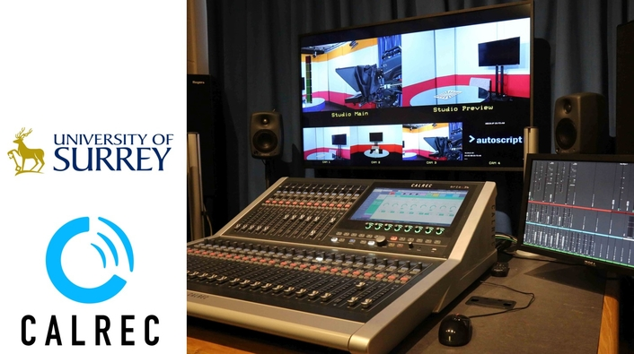 Calrec's Brio prepares students for audio careers at University of Surrey