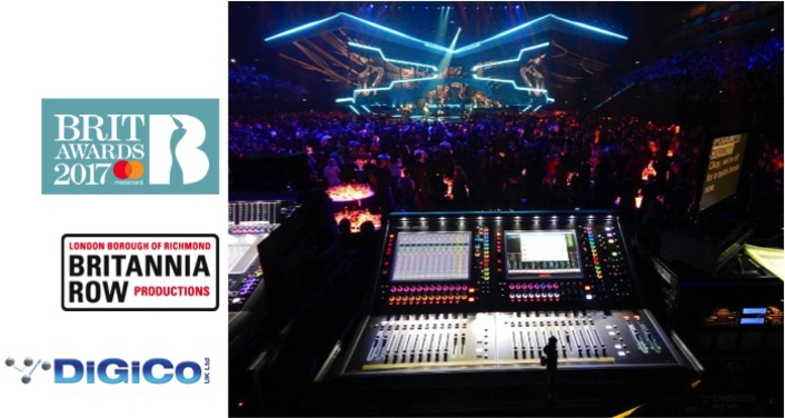 DigiCo gets clean sweep at 2017 Brit Awards