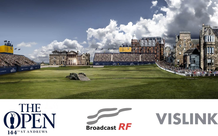 Broadcast RF has designed a compact and lightweight one-man camera transmitter for use at the Open Championship