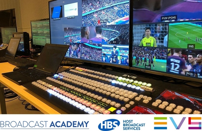 Broadcast Academy launches beginner level course at EVS' HQ in Belgium