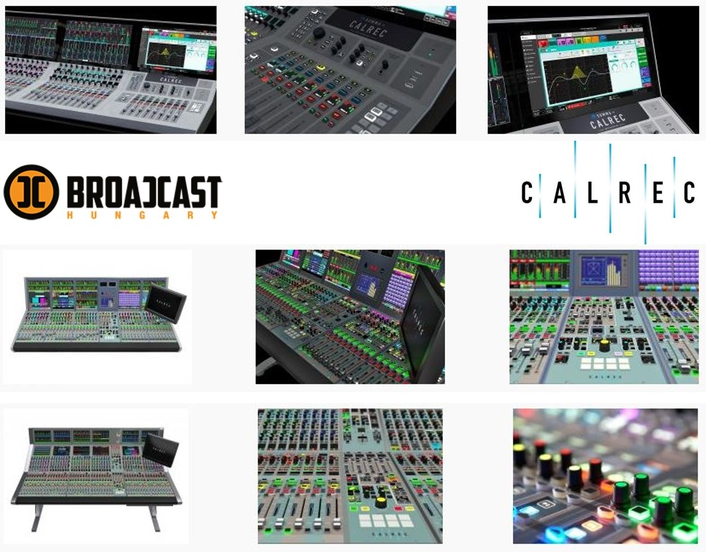 Calrec Audio signs Broadcast Hungary