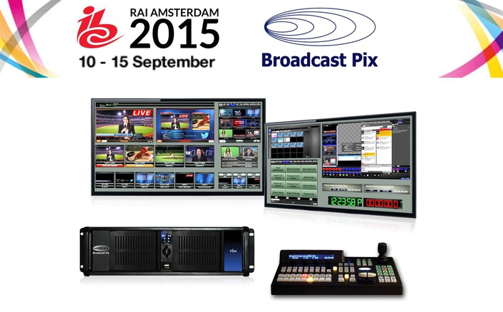 Broadcast Pix Debuts Next Generation Multi-Configurable Flint Systems at IBC2015