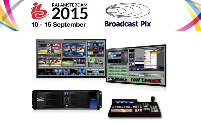 Broadcast Pix Debuts Next Generation Multi-Configurable Flint Systems at IBC2015